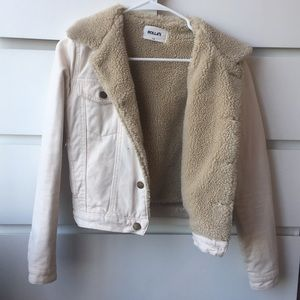 Free People Rollas Sherpa Jacket
